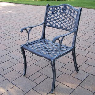 Tea Rose Stacking Patio Dining Chair