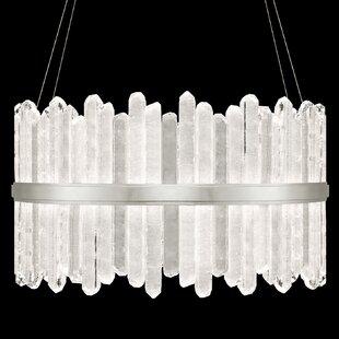 Fine Art Lamps Lior Rock 48-Light Drum Ch..