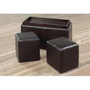 Quinnwood 3 Piece Cube Ottoman Set By Latitude Run
