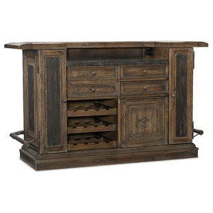 Hill Country Bar with Wine Storage by Hooker Furniture