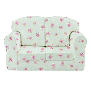 Fidler Flowers Children's Sofa By Zoomie Kids