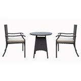 Higuera 3 Piece Bistro Set with Cushion