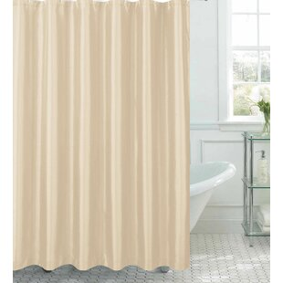 Samar Faux Silk Shower Curtain Set