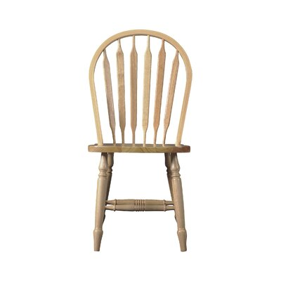 Audette Windsor Arrowback Solid Wood Dining Chair August Grove Color: Unfinished