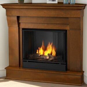 Chateau Corner Gel Fuel Fireplace