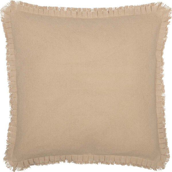 Burlap Euro Pillow Shams Wayfair