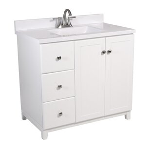 Rosalynn 2-Door 37 Single Bathroom Vanity by Ebern Designs