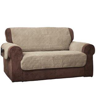 Winston Porter Box Cushion Loveseat Slipcover