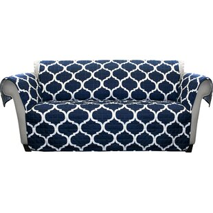 Shopping for Dauberville Box Cushion Sofa Slipcover by Alcott Hill Reviews (2019) & Buyer's Guide