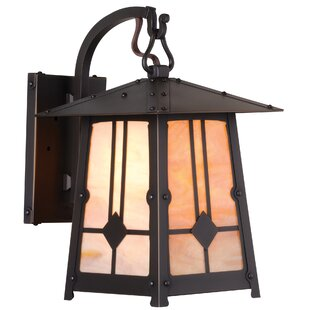 Cryal Hook Arm LED Outdoor Wall Lantern