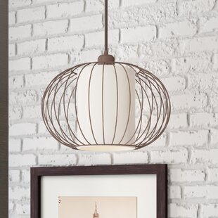Where buy  Abadie 1-Light Pendant By Mercury Row