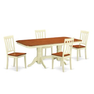 Napoleon 5 Piece Dining Set by Wooden Imp..