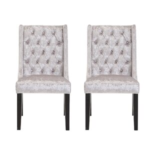 Cooley Upholstered Dining Chair (Set Of 2) By Rosdorf Park