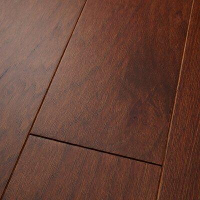 "Americano 5"" Engineered Hickory Hardwood Flooring in Russet Welles Hardwood"