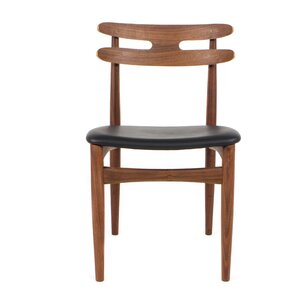 Bono Genuine Leather Upholstered Dining Chair by Organic Modernism