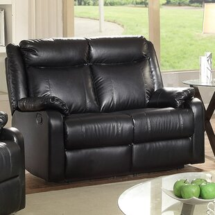 Weitzman Double Reclining Loveseat by Red Barrel Studio Best Choices