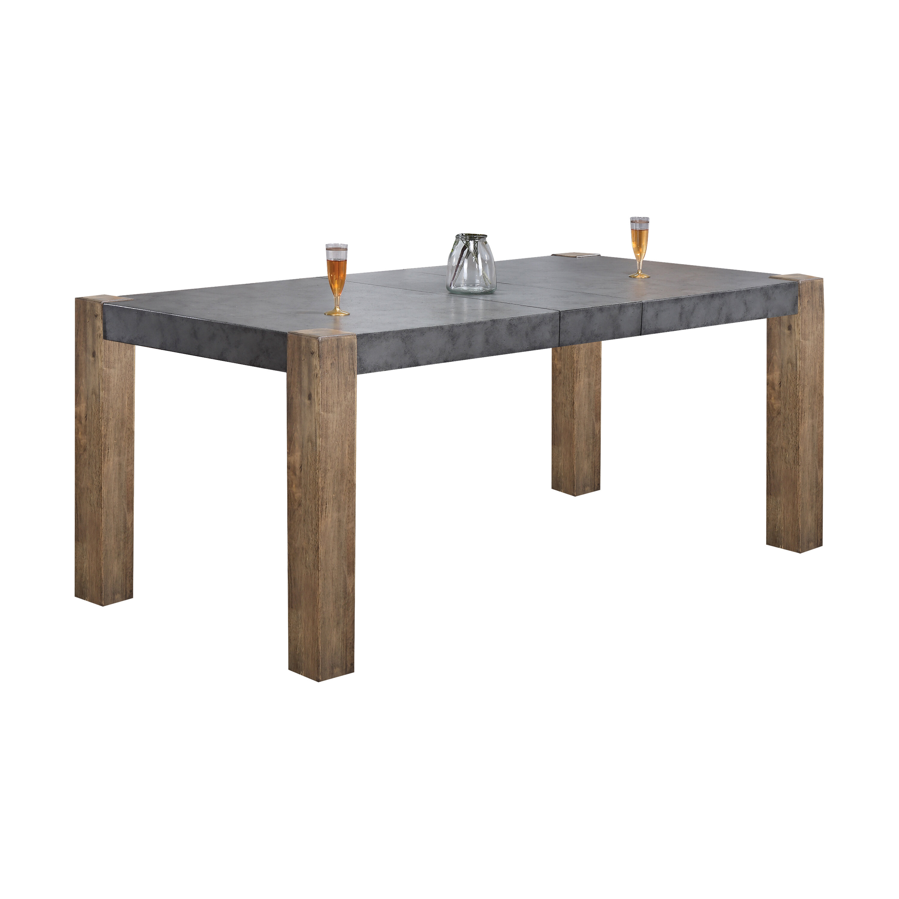 Union Rustic Huang Extendable Dining Table