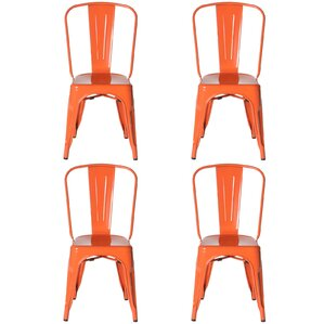Riker Metal Dining Chair (Set of 4) by Brayden Studio