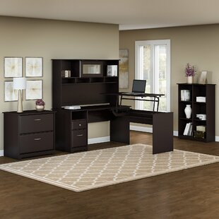 Hillsdale 5 Piece L-Shaped Desk Office Set by Red Barrel Studio Coupon