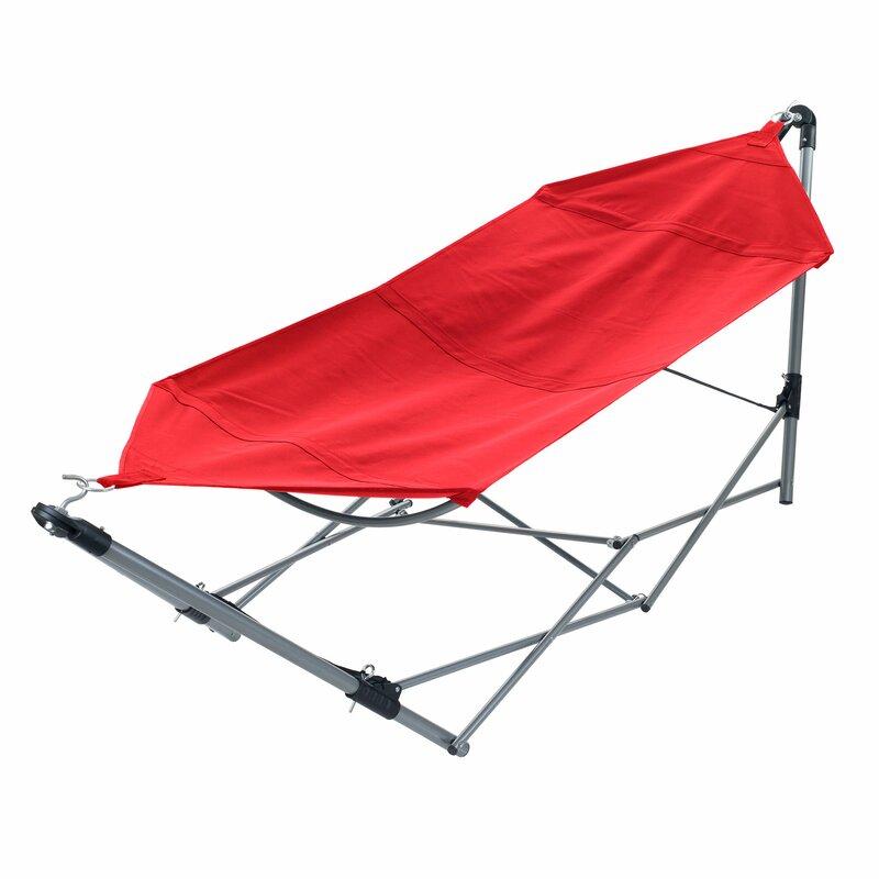 portable camping hammock with stand stalwart portable camping hammock with stand  u0026 reviews   wayfair  rh   wayfair