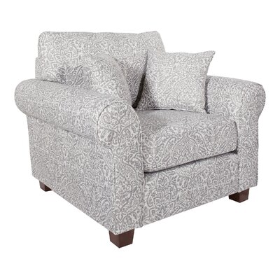 Border Rolled Armchair by Darby Home Co