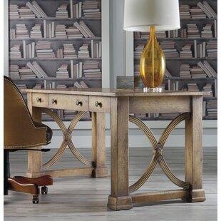 Melange Solid Wood Writing Desk by Hooker Furniture