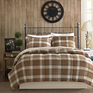 Lumberjack Down Alternative Reversible Comforter Mini Set
