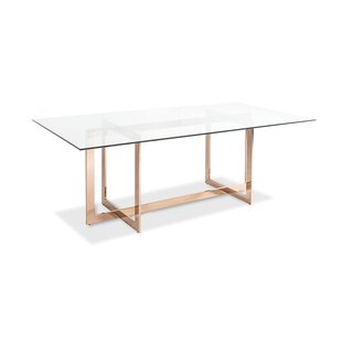 Kendra Dining Table by Everly Quinn 2019 Coupon