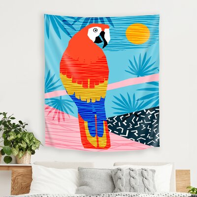 Say What by Wacka Designs Tapestry East Urban Home Size: 60 H x 51 W x 1 D