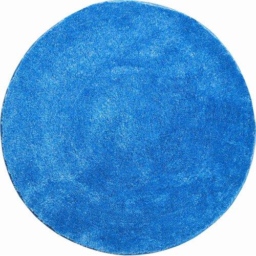 Badteppich Lex Grund Farbe: Blau  Größe: 100 x 100 cm   Bad > Badgarnituren > Läufer & Matten   Grund