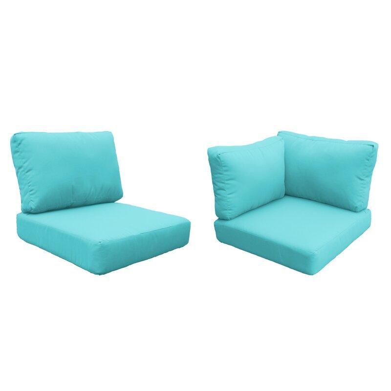 Sol 72 Outdoor Tegan 13 Piece Indoor Outdoor Cushion Cover Wayfair