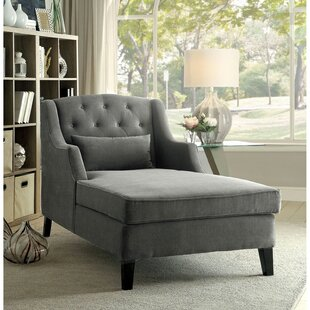Coupon Gerson Chaise Lounge by Everly Quinn Reviews (2019) & Buyer's Guide