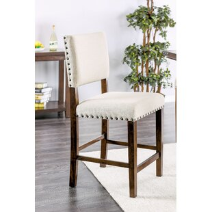 Hong Counter Height Upholstered Dining Chair (Set of 2) Gracie Oaks