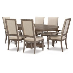 Bonham 7 Piece Extendable Dining Table Set DarHome Co