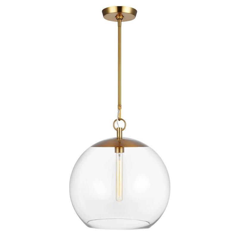Chapman Myers Atlantic 1 Light Single Globe Pendant Perigold