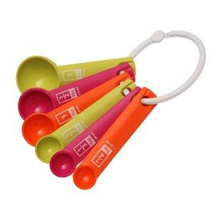 6 Piece Plastic Measuring Spoon Set
