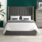 O'brien Upholstered Platform Bed by Brayden Studio®