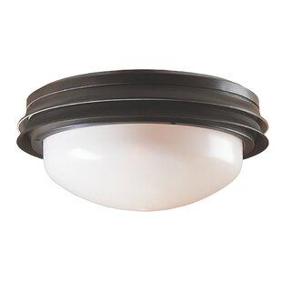 Reviews Marine II 2-Light Bowl Ceiling Fan Light Kit By Hunter Fan
