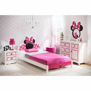 Disney Minnie Mouse Twin Panel Configurable Bedroom Set