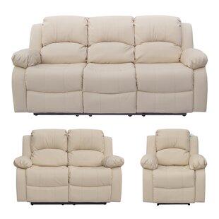 Kenworthy 3 Piece Reclining Sofa Set By Ebern Designs