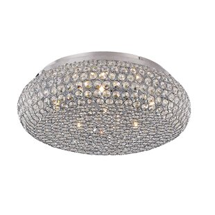 TransGlobe Lighting Starlight 6-Light Flush Mount