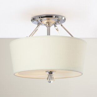 Gildersleeve 3-Light Semi Flush Mount by Darby Home Co