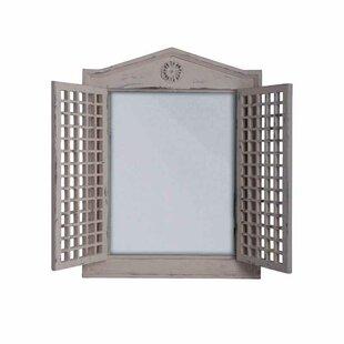 EsschertDesign Lattice Door Accent Mirror