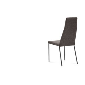 Sierra Genuine Leather Upholstered Dining Chair (Set of 2) by Domitalia