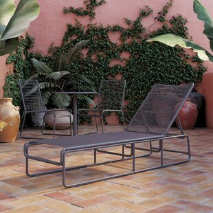 Nyla Reclining Sun Lounger By CosmoLiving By Cosmopolitan
