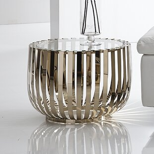 Rosa End Table by Bellini Modern Living Modern
