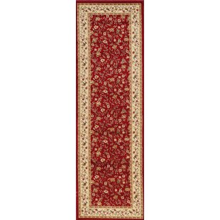 Weisgerber Red Area Rug by Astoria Grand