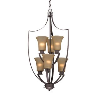 Barryton 6-Light Shaded Chandelier by Astoria Grand