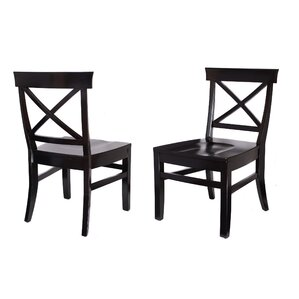 Solid Wood Dining Chair (Set of 2) by BirdRock Home