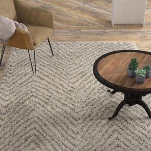 Bargain Cammie Ivory/Gray Area Rug By Williston Forge